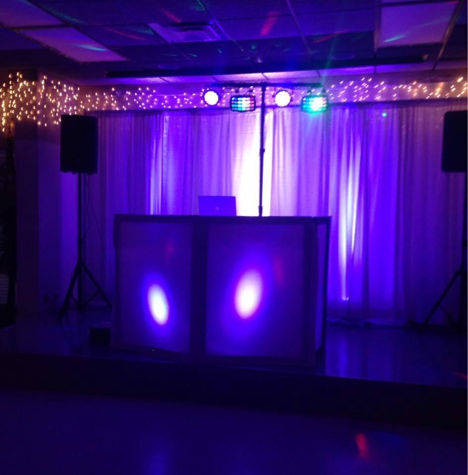 Professional DJ setup travel to FL